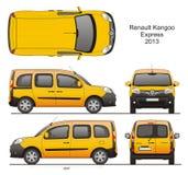Renault Kangoo выражает 2013 Стоковая Фотография RF