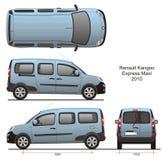 Renault Kangoo макси Combi Стоковое фото RF