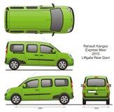 Renault Kangoo срочное макси 2010 Стоковое Изображение
