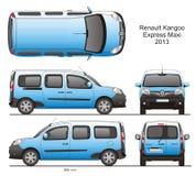 Renault Kangoo срочное макси 2013 Стоковые Фотографии RF