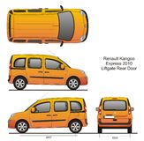 Renault Kangoo Express 2010 Images stock