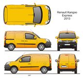 Renault Kangoo Express 2013 Photographie stock libre de droits