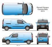 Renault Kangoo Express Maxi 2013 Photos libres de droits
