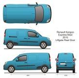 Renault Kangoo Express Maxi 2010 Royalty Free Stock Image