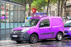Renault Kangoo Royalty Free Stock Photography