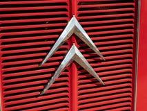 Renault klassisk bil, detalj royaltyfria foton
