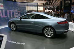 RENAULT LAGUNA COUPE Royalty Free Stock Images