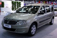 Renault Logan Stock Photography