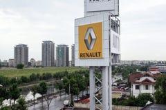 Renault logo obraz stock