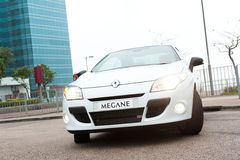 Renault MAGANE Convertible Stock Photo