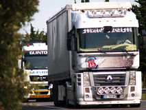 Renault Magnum Truck stock photography