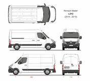 Renault Master Cargo Delivery Van L2H2 2014-2019