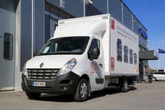Renault Master 150.35 CC L3 Truck Royalty Free Stock Photography