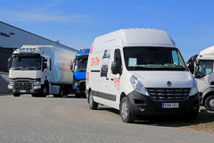 Renault Master 150.35 L3H3 Van Royalty Free Stock Photo