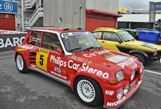 Renault 5 Maxi Turbo Royaltyfri Foto