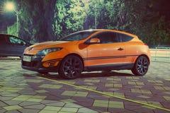 Renault Megan Sport Edition Arkivbilder