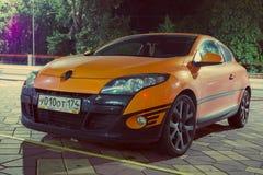 Renault Megan Sport Edition. Stock Photography