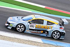 Renault Megane Racecar on TT Circuit Assen, Drenthe, Holland, the Netherlands Royalty Free Stock Image