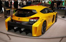 Renault Megane Trophy Royalty Free Stock Image