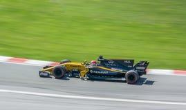 Renault in Motie stock fotografie