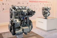 Renault motor Royaltyfri Fotografi