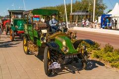 Renault-Oldtimer 1911 am jährlichen nationalen Oldtimertag in Lelystad Lizenzfreies Stockbild