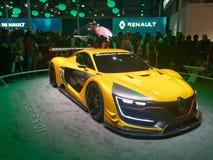 Renault ono pokazuje przy Auto expo 2016 Zdjęcia Royalty Free