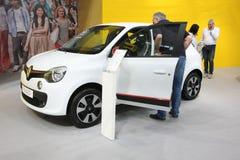 Renault på den Belgrade Car Show Royaltyfri Bild