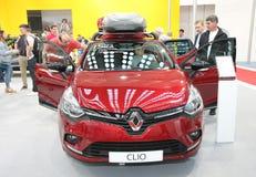 Renault på den Belgrade Car Show Royaltyfri Foto