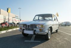 Renault 16. The Renault 16 R16 is a large family hatchback produced by French automaker Renault between 1965 and 1980 in Le Havre, France Royalty Free Stock Photos