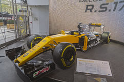 Renault r S гоночный автомобиль 17 Стоковое Изображение