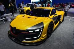 Renault R S racerbil 01 Fotografering för Bildbyråer