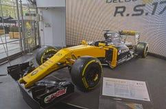 Renault R.S.17 racing car. Stock Image