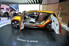 Renault R-SPace car concept Royalty Free Stock Photography