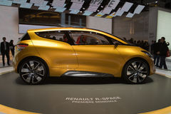 Renault R-Space Concept - Geneva Motor Show 2011 Stock Photography