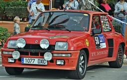 Renault R5 turboladdare Royaltyfri Foto