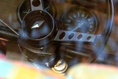 Renault R8 wnętrze obraz stock