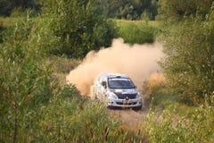 Renault Rally Car Royalty Free Stock Photo
