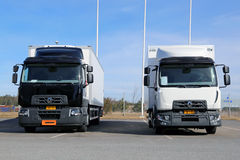 Renault Range D Trucks Royalty Free Stock Images