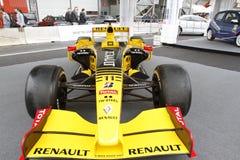 Renault-Rennwagen Lizenzfreie Stockbilder