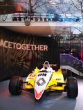 Renault sala wystawowa Obrazy Stock