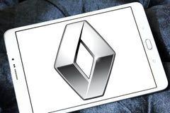 Renault samochodu logo Zdjęcie Stock