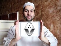 Renault samochodu logo Zdjęcia Stock
