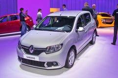 Renault Sandero zdjęcia royalty free