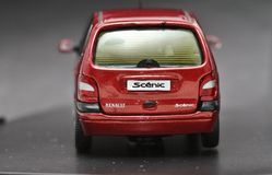 Renault Scenic Stock Afbeelding