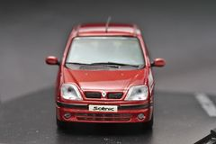 Renault Scenic Foto de Stock Royalty Free