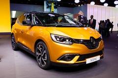Renault Scenic in Genf Lizenzfreies Stockfoto