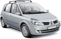 Renault Scenic II Stock Photos