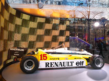 Renault Showroom Arkivfoton