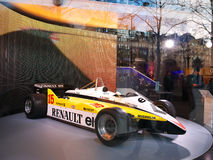 Renault Showroom Arkivbild